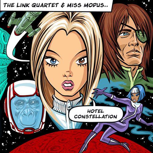 Hotel Constellation The Link Quartet Tanzan Music Records